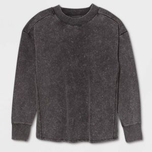 All In Motion Grey Crewneck